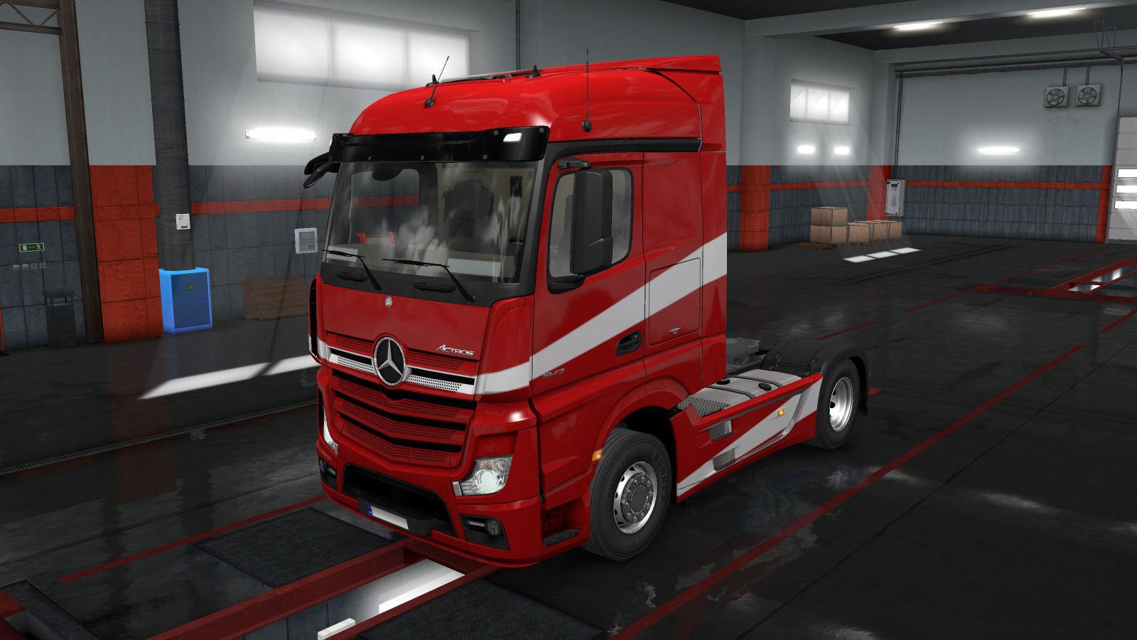 Mercedes New Actros MP4